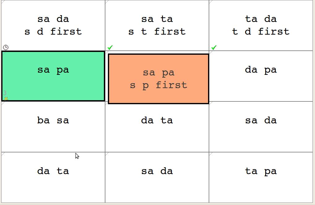 Transformers word grid.