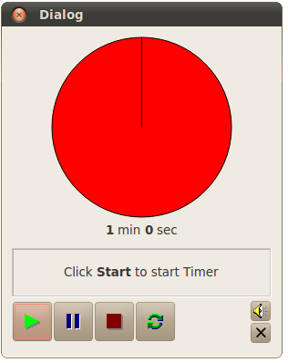 One Minute Timer.